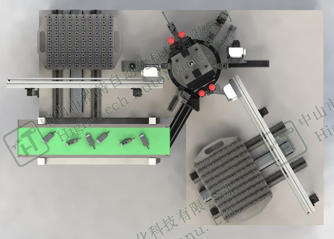 非标阀体自动组装线