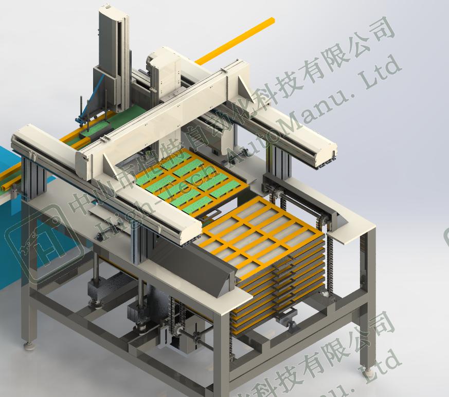 变压器盒自动组装设备