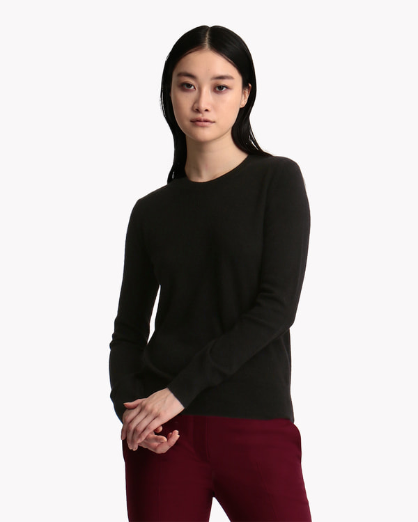 New Basic Cashmere Crew Neck PO J