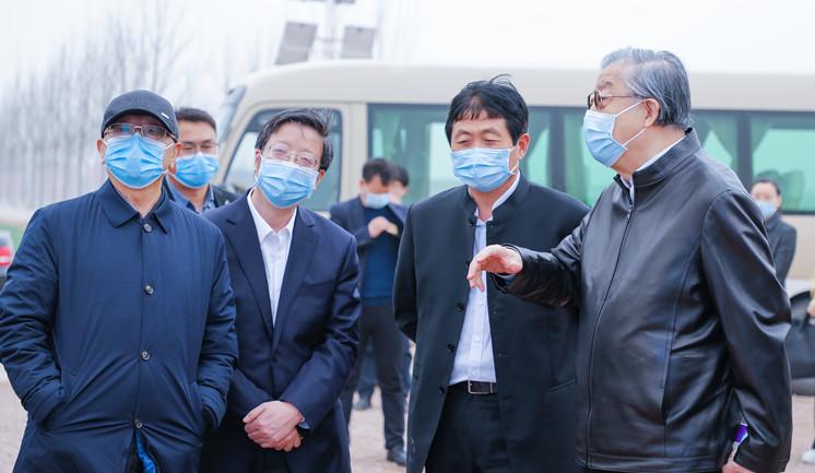 李景田会长与钱三雄市委书记视察工作 (6)_副本