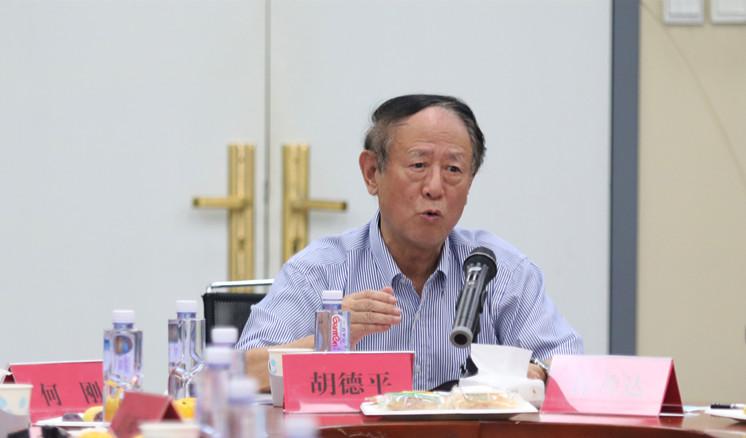 胡德平在共同富裕研讨会上讲话