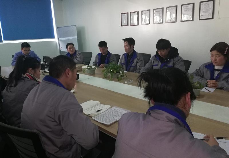 快讯-嘉润电气召开基层干部述职会议