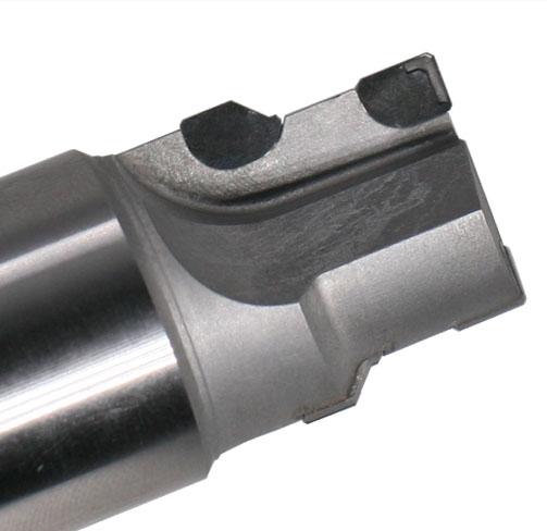 沉头孔专用刀断屑槽设计