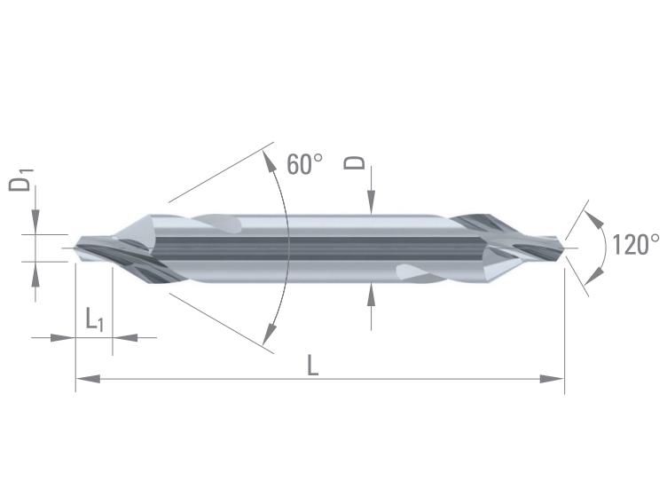 DIXI 1101 60°钻头