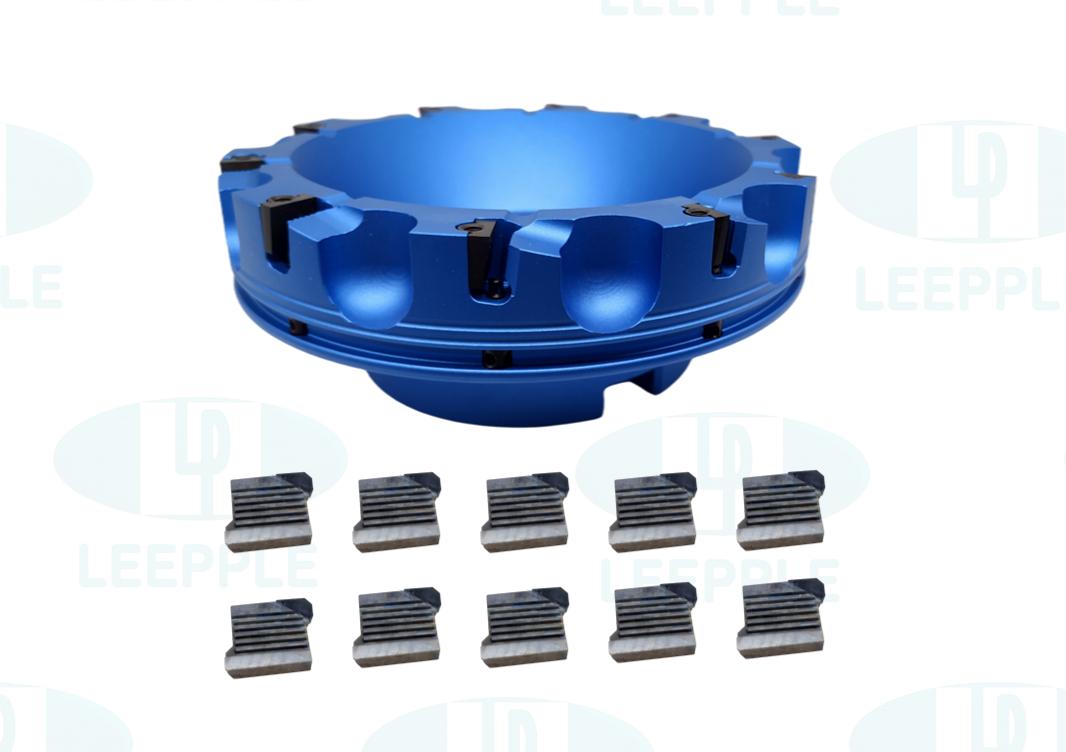 R295 铝制PCD铣刀盘