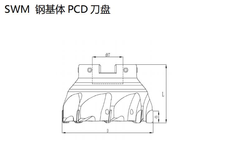 SWM型PCD刀盘