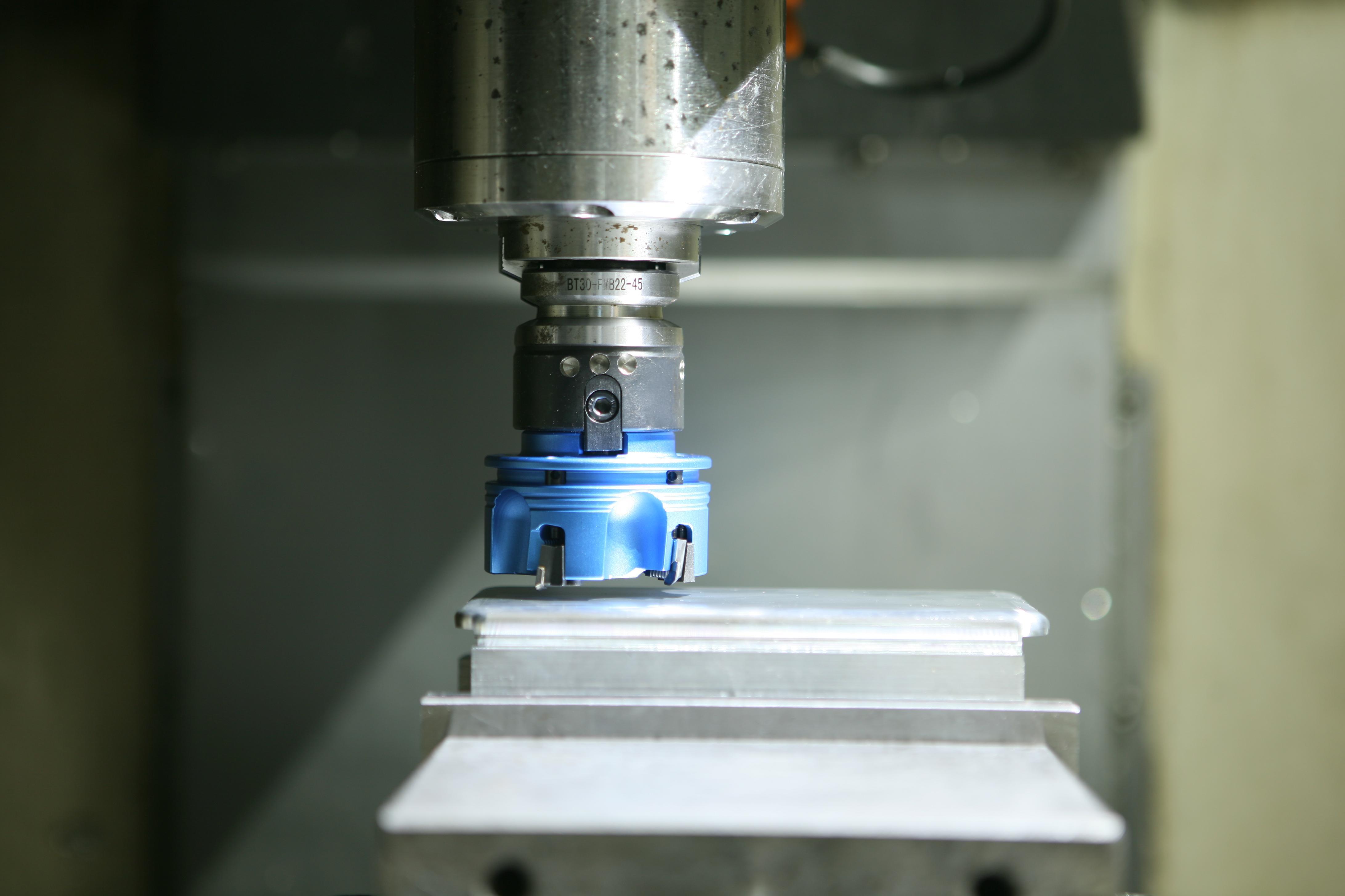 PCD刀具平面加工