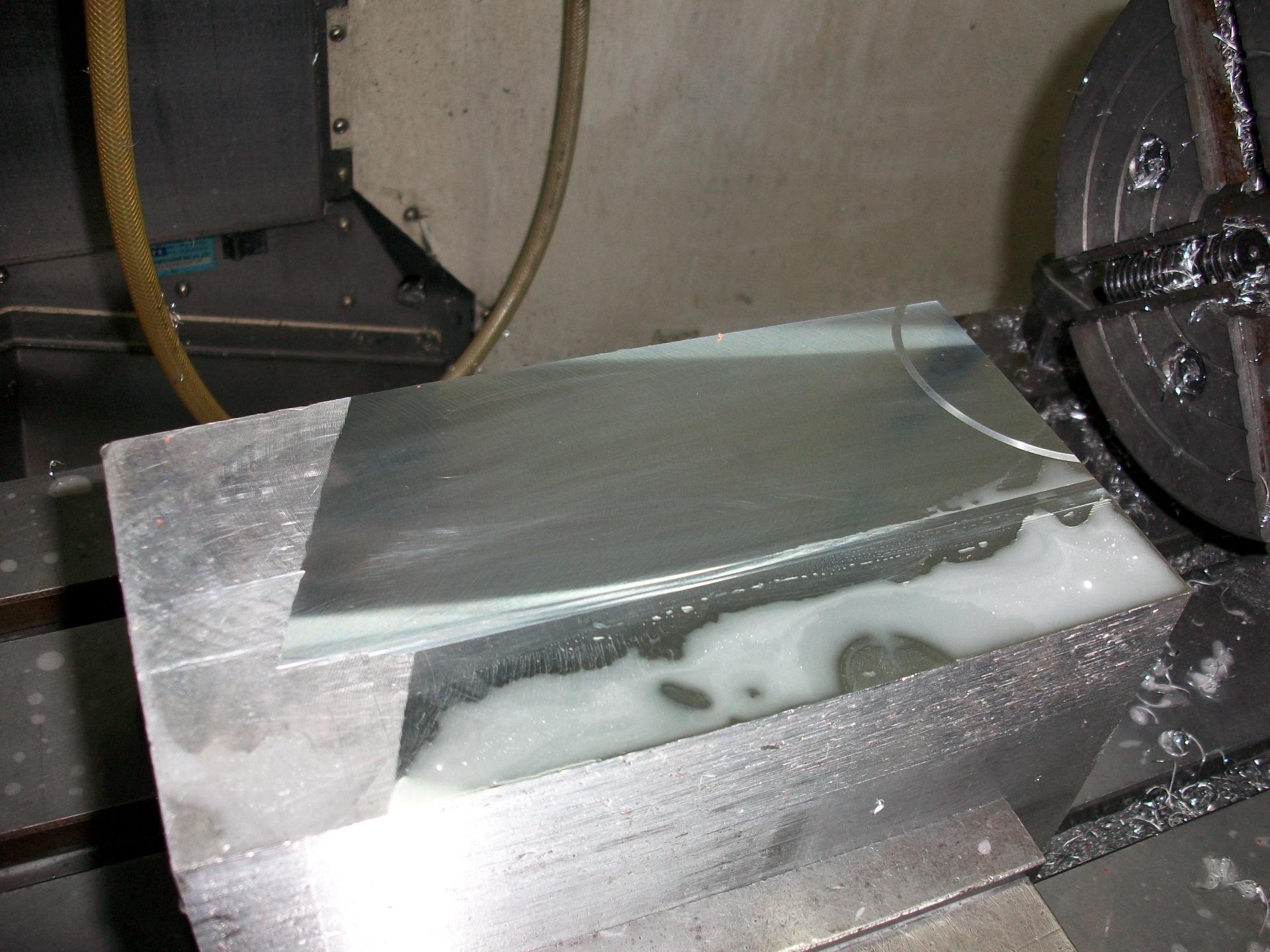 力博金刚石(PCD)刀具铝材加工效果