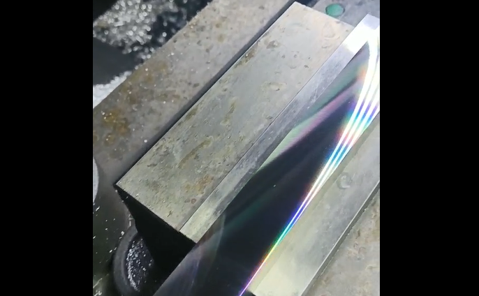 pcd加工铝件平面光滑