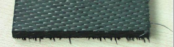 普通刀具加工航天碳纤维产品毛刺严重