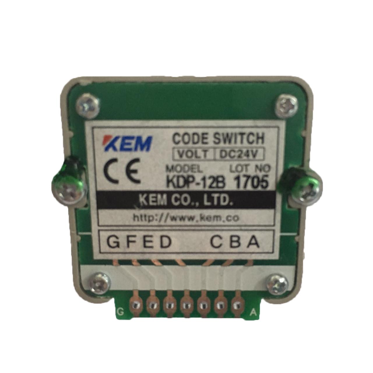 韩国KEM波段开关KDP-12B 24B 12A 24A发那科系统快速倍率开关