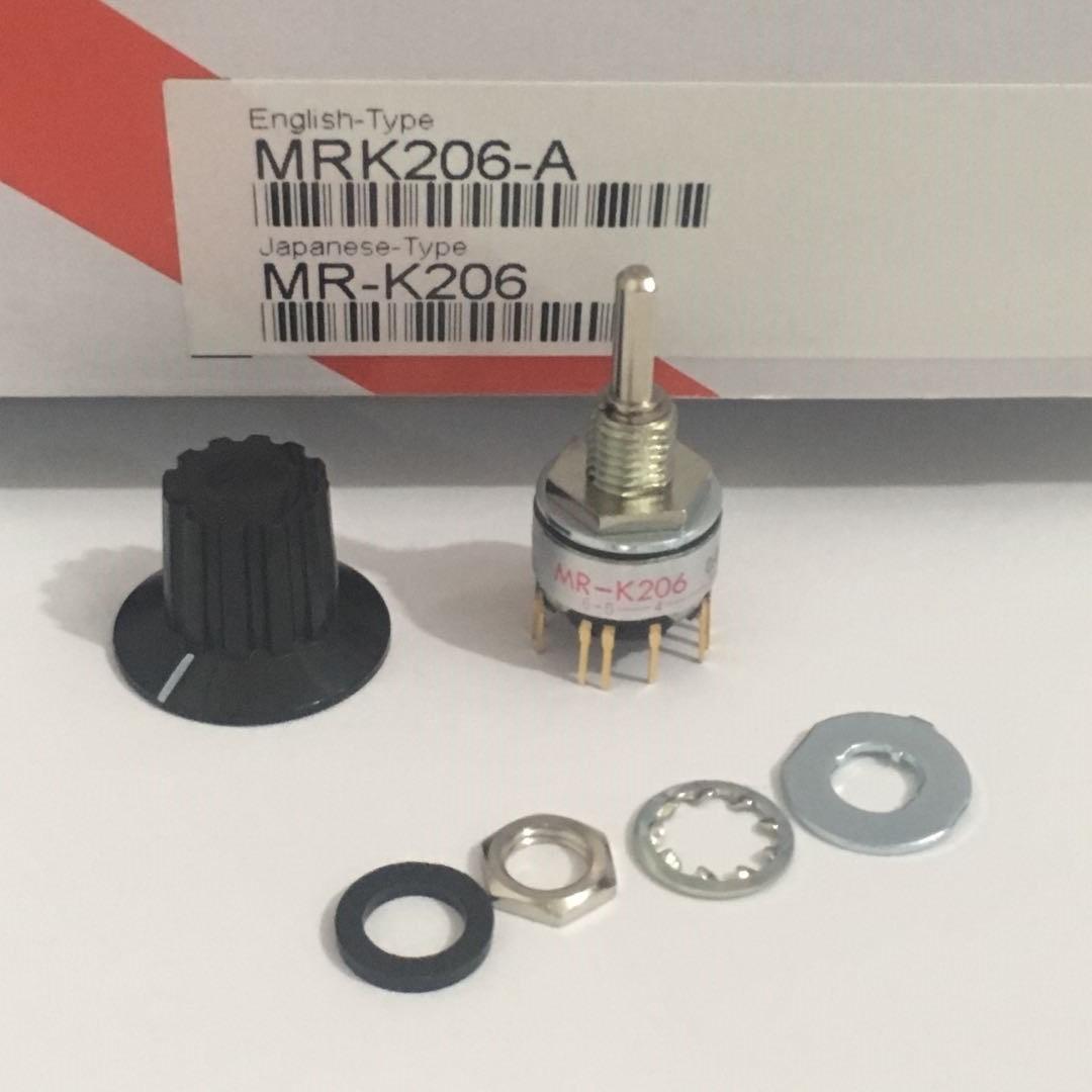 日本NKK波段开关旋转档位开关MR-K112 K206 A112电子手轮数控机床