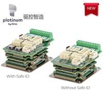 全新一代Platinum Whistle Solo伺服驱动器 整合功能安全性和快速接口板
