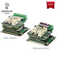 全新一代Platinum Bell Solo伺服驱动器,为步进电机设计 带整合功能安全性,快速接口板