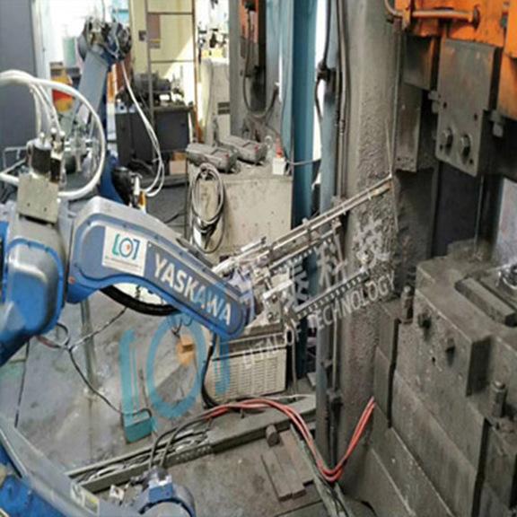 机器人应用于锻造自动化