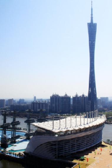 广州-亚运开幕场海心沙