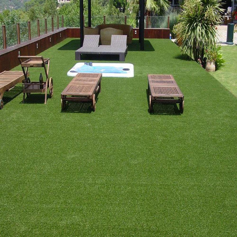 人造草休闲区