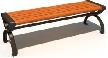 BH14606(1.2-1.5米黄花梨木条凳)