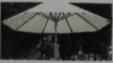铝杆太阳伞(不含桌椅)