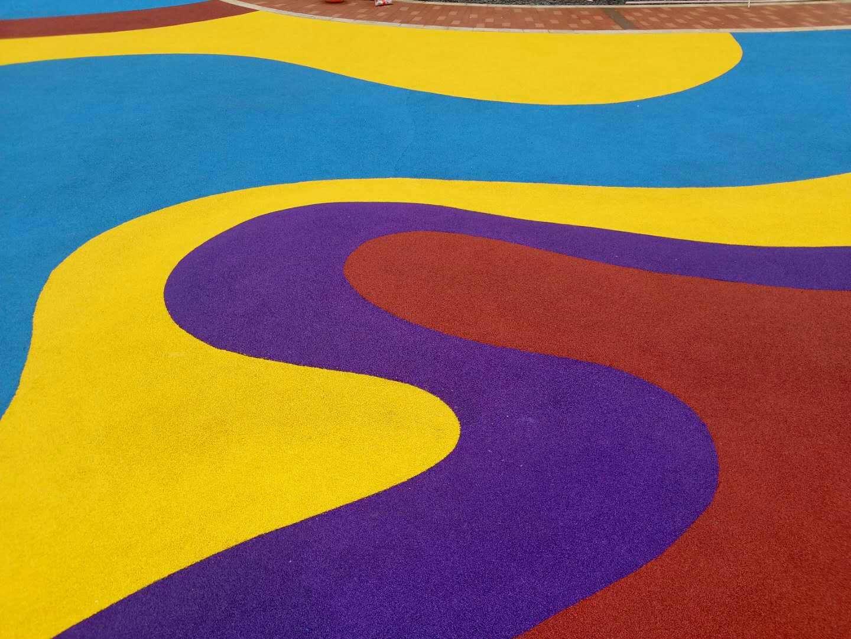 EPDM彩色橡胶地面