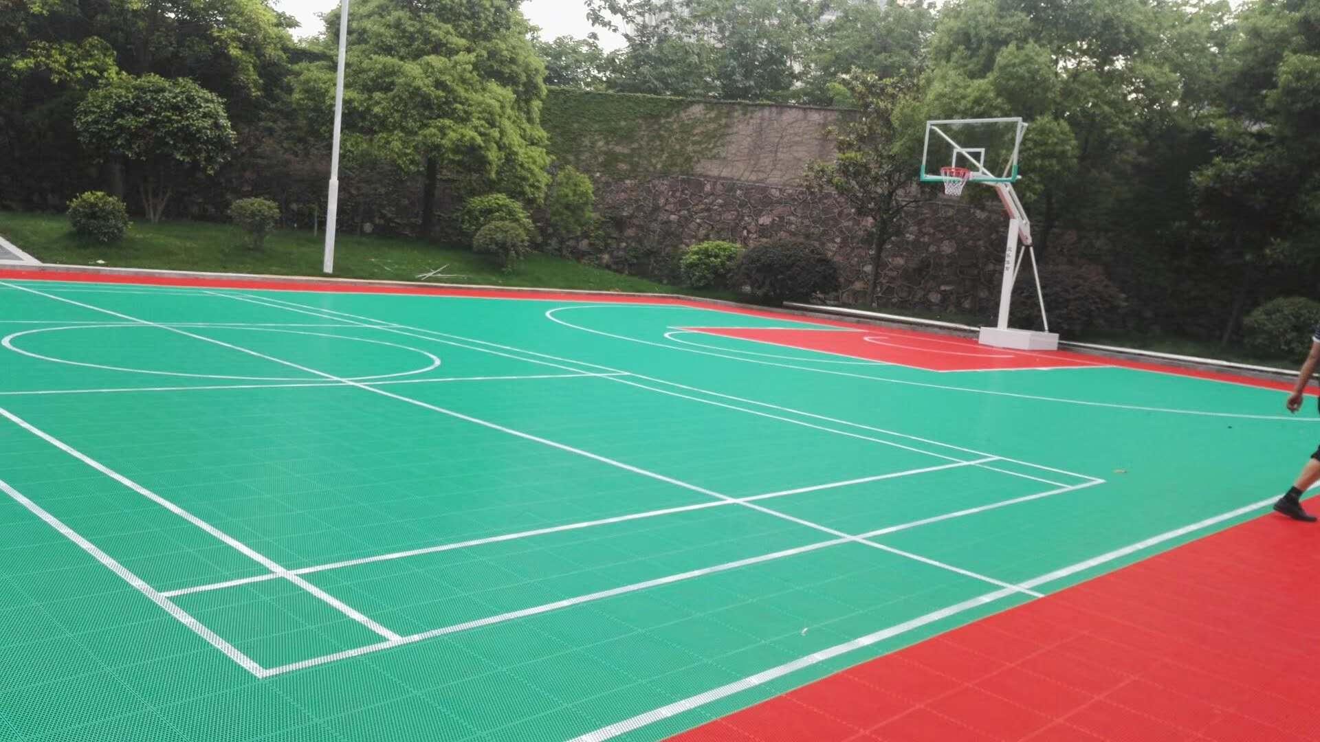 硅pu篮球场1