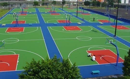 硅pu篮球场4