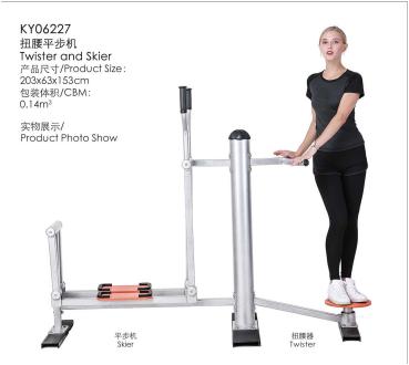 扭腰平步机