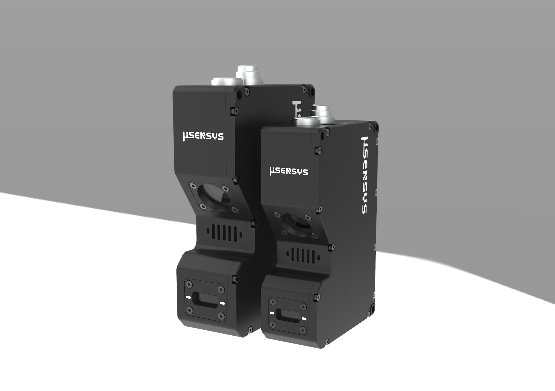 应用于工业场景下的3D 测量和控制。