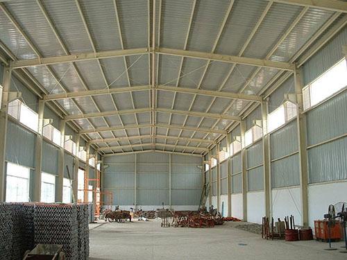 山西钢结构厂房屋面漏水的原因及防治措施