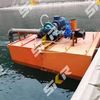 浮箱式抽排水平台