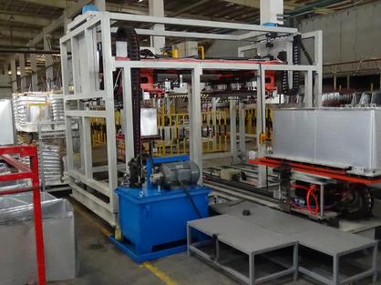 海尔冰箱自动化生产线