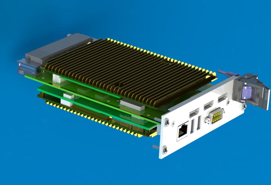 3U VPX  控制器