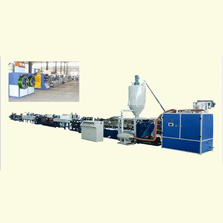 Линия для производства упаковочных лент из PET или PP
