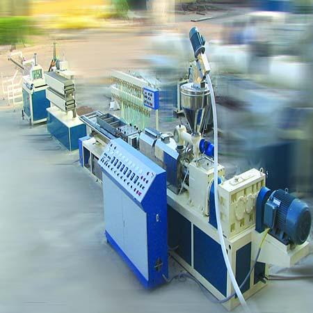 Экструзионная линия для производства малых профилей из PVC, PP, PE, ABS