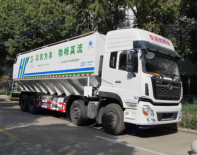 东风商用散装饲料罐车
