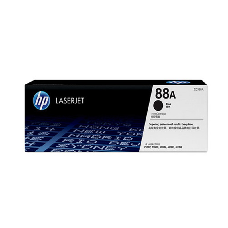 惠普(HP)LaserJet CC388A硒鼓 88A