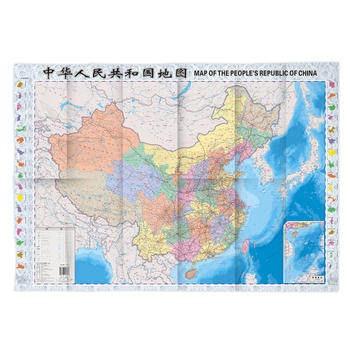 中华人民共和国地图(知识版)
