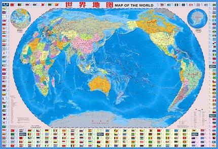 世界地图  (知识版)