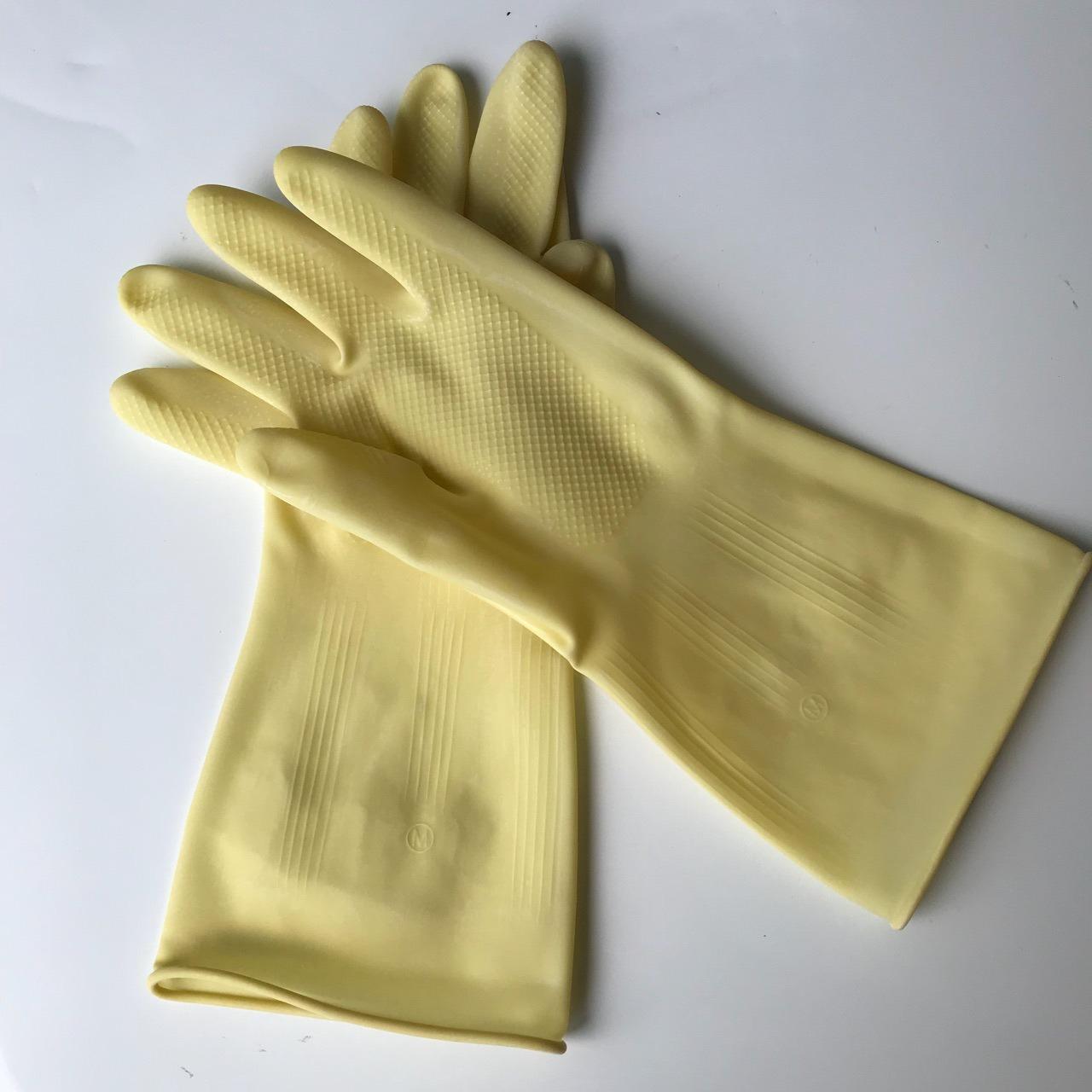 五羊牛角胶手套