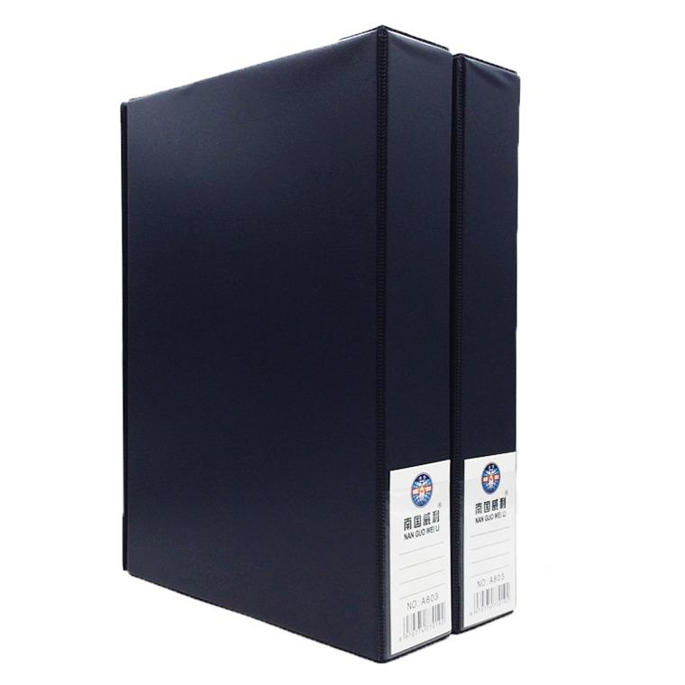 南国威利文件盒  55mm 按扣 A803