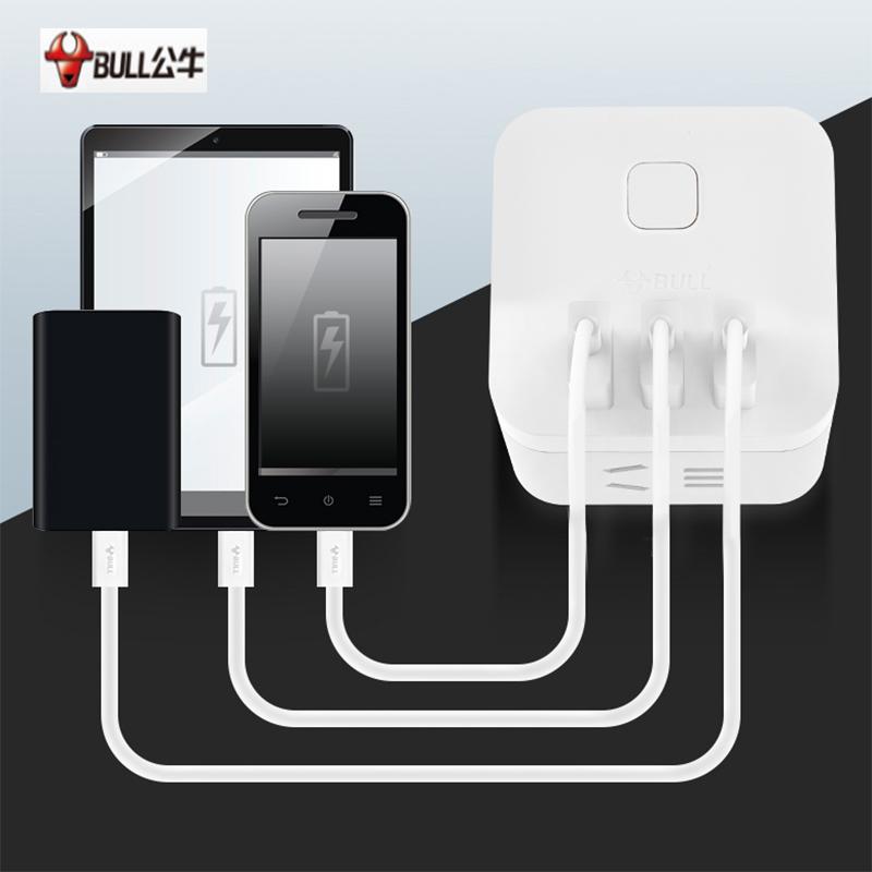 公牛魔方智能USB插座 GN-U303H