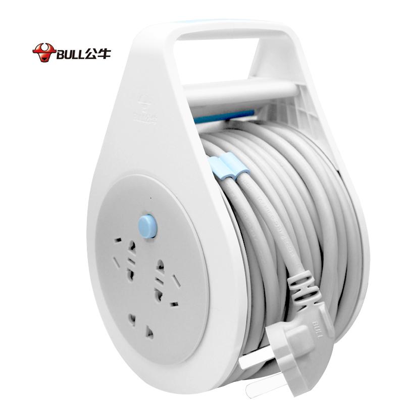 公牛电缆卷盘排插 GN801 5mi