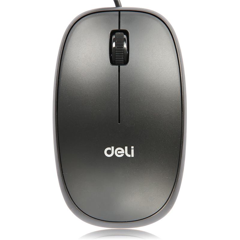 得力有线鼠标3715 USB