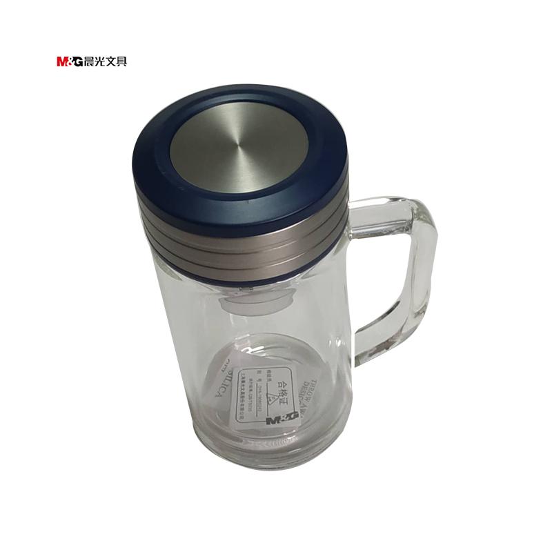 晨光双层玻璃保温杯 350ML