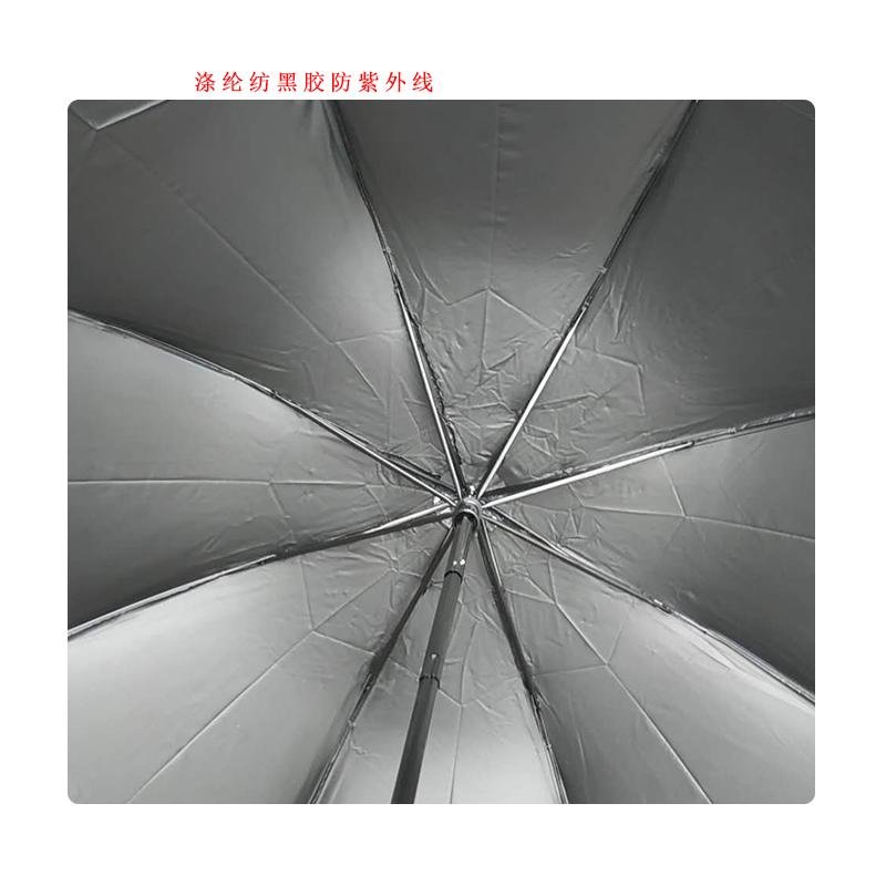 天堂三折防紫外线雨伞 33658E