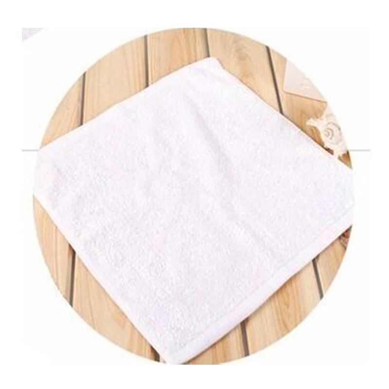 红大纯棉方巾 30*30CM