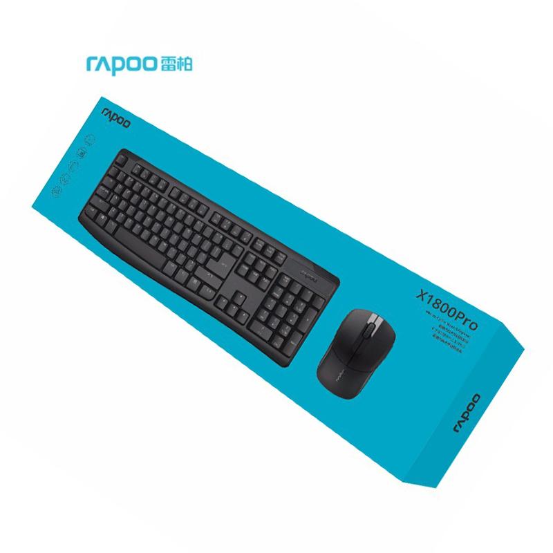 雷柏无线键鼠套装 键盘鼠标  1800PRO