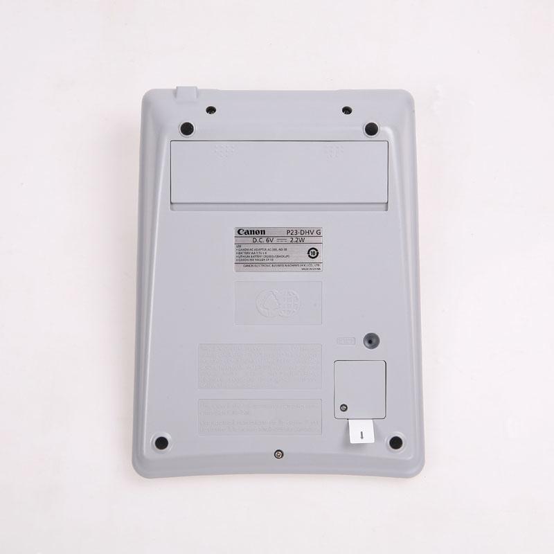 佳能桌面打印计算器 P23-DVHG