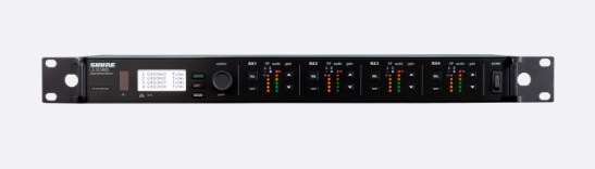 ULXD4Q四通道数字无线接收机