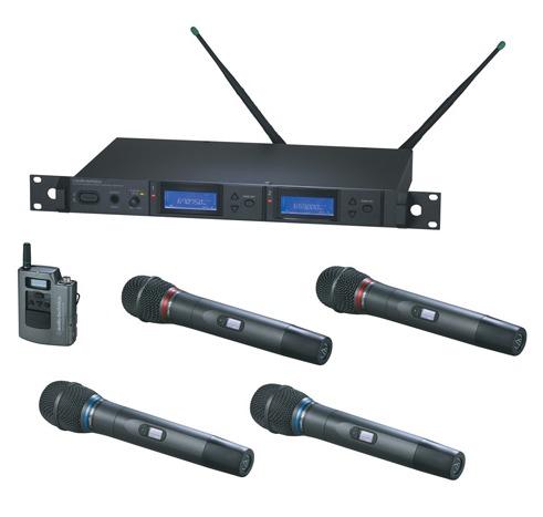 一拖二无线手持话筒AEW5233/5244/5255/5266